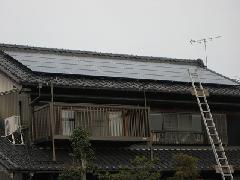 太陽光発電パネル(多様な屋根 取り付け例)