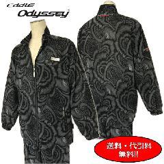 Eddie Odyssey 個性プリント総柄スーツ  BLACK