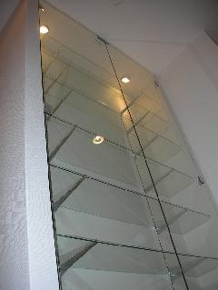横浜市 一般住宅 ガラス扉施工