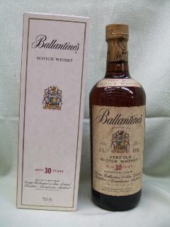 BALLANTINES 30years