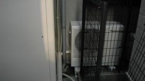 設置後のエコキュート HE−W46CQS
