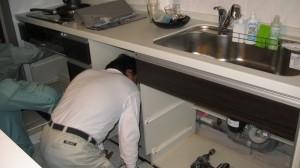 北区マンション アワーズ 食器洗い乾燥機取付工事