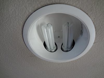 電気工事はダウンライト5台取替え