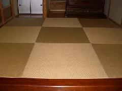 自宅の畳替えをしました。