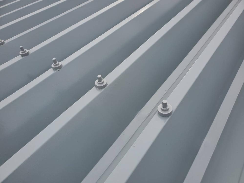 折板屋根 屋根塗装