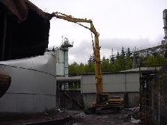 太平洋セメントタンク 解体工事