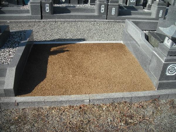 お墓の解体
