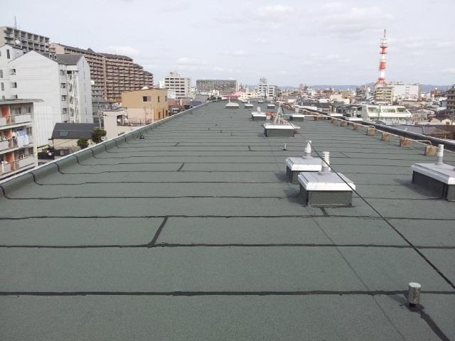 大阪府営住宅アスファルト防水