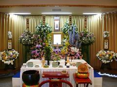 菰野町営式場 祭壇例1