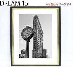 ドリーム15 ブラックゴールド色 A-F6(水彩6号)(565×473mm) デッサン額縁