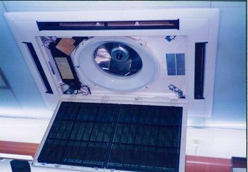 業務用空調機のオーバーホール