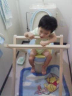 障害児用トイレ保持台