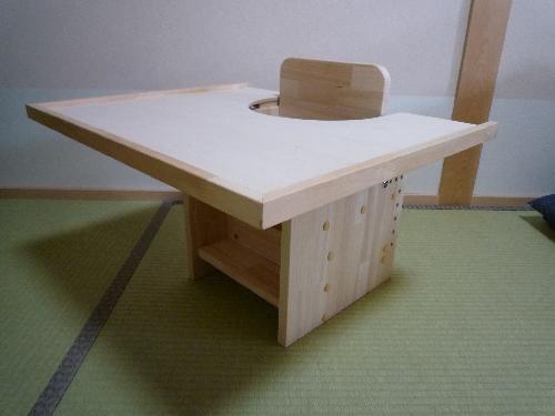 幼児用テーブル