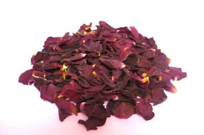 バラの乾燥花びら【赤色バラ】*量り売り