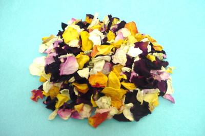 バラの乾燥花びら【MIX色バラ】*量り売り 10g