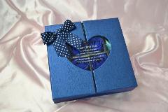 ソープフラワー ローズボックス ブルーS-900