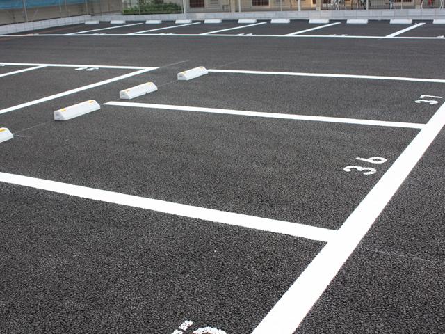 駐車場ライン表示