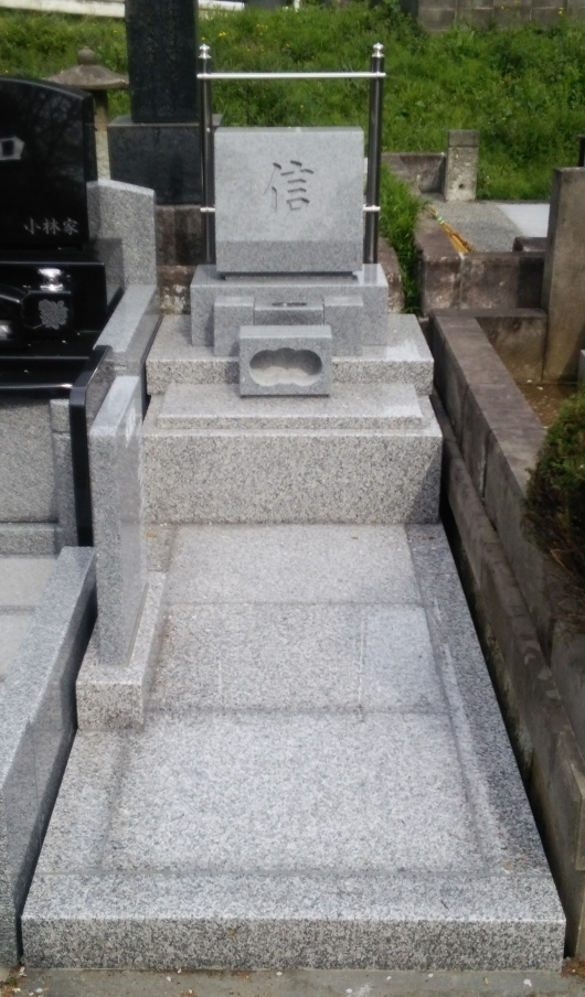 日野公園墓地3.0�u墓地 丘カロート【G-623】+墓石【G-614】