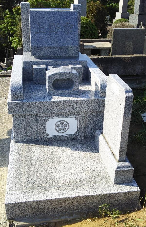 日野公園墓地2.0�u墓地 丘カロート【G-623】+墓石【G-614】