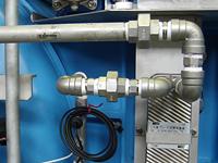 冷却水の配管工事