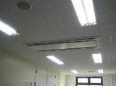 事務所での照明リフォーム