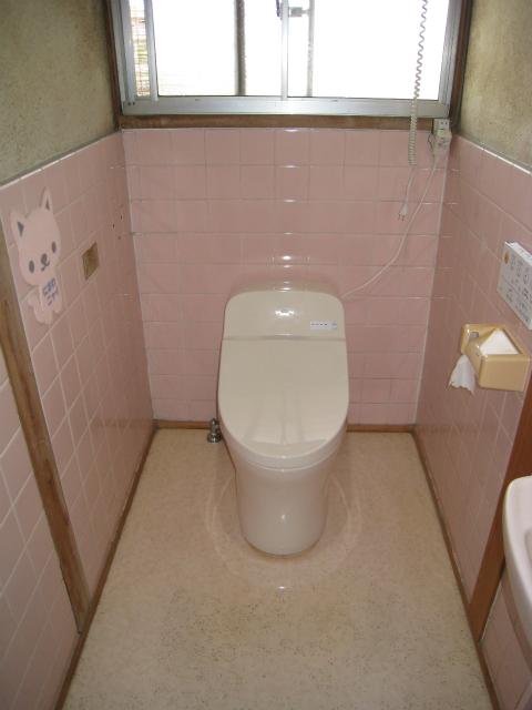 トイレ施工