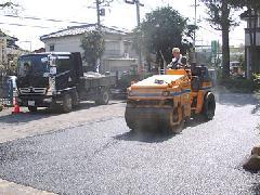駐車場舗装工 舗装打ち替え工事