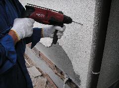 シロアリ防除 施工方法写真 予防処理