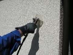 シロアリ予防工事写真 工事方法