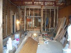 長屋のシロアリ被害 木造アパート被害 高石市