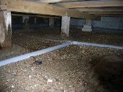 床下の水漏れは超怖い!!