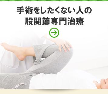 股関節専門治療