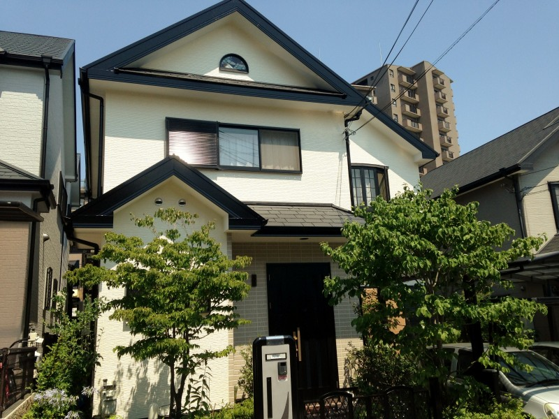 堺市 一般住宅外壁・屋根・バルコニー塗装