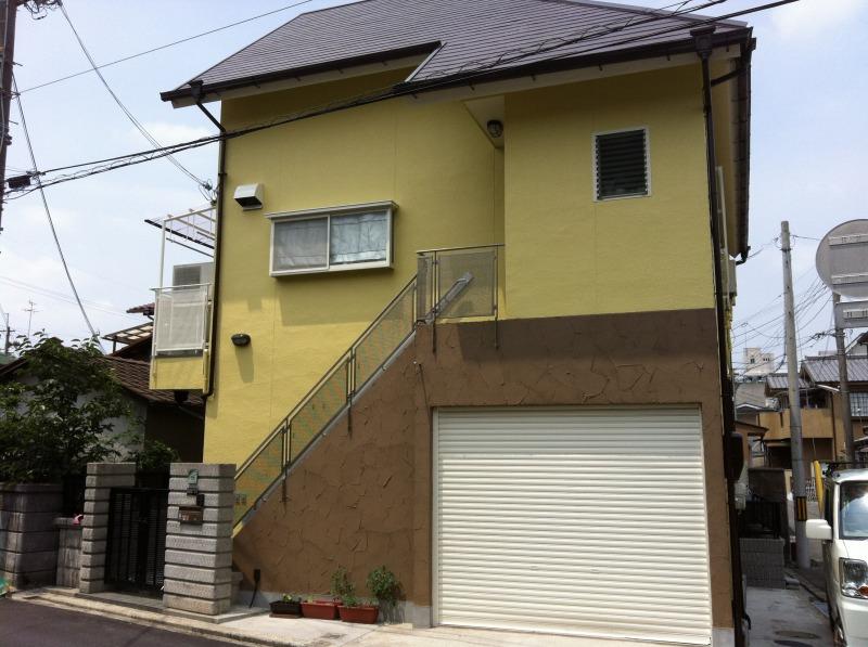 吹田市 一般住宅外壁・屋根塗装