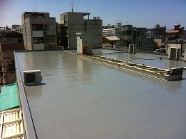 屋上改修防水工事