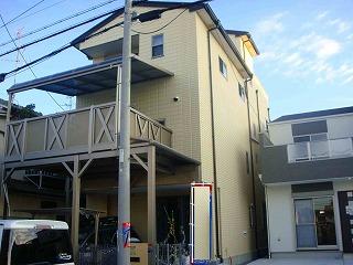 大阪府大阪市東住吉区 一般住宅外壁・屋根塗装施工後