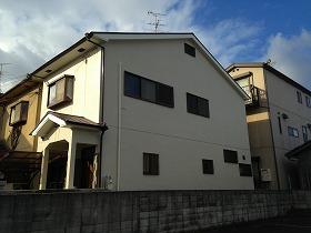 大阪府羽曳野市 一般住宅外壁・屋根塗装施工後