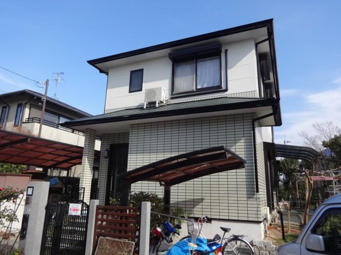 奈良県北葛城郡W様 一般住宅外壁・屋根塗装