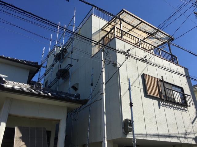 岸和田市F様邸 外壁塗装工事
