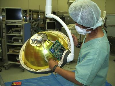 基盤を交換し、調光信号を正常に回復