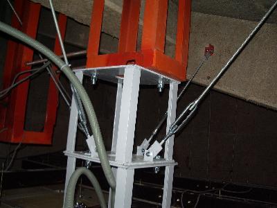 きちんと架台を設置して、基礎をしっかり設置する
