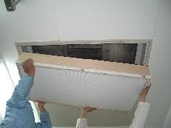 フィルター交換工事の施工例