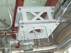 吊元架台設置工事の施工事例