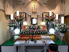 一日葬(花祭壇)