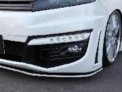 RKステップワゴン ジュールバンパー専用純正フォグランプ取付ブラケット