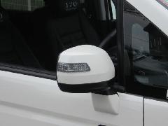 RKステップワゴン後期 ドアミラーウインカーカバー(ライトスモーク・ドット)