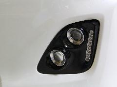 50エスティマ中期アエラス 純正フロントバンパー専用4灯式HIDプロジェクターフォグランプキット