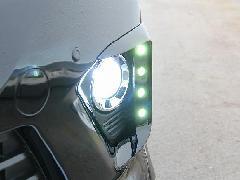 20アルファード 後期Sグレード LEDデイランプキット 塗装済み