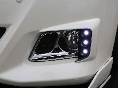 20アルファード 後期G/Xグレード 純正バンパー用LEDデイライトキット塗装済み(単色)