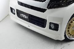 N−BOXカスタム フロントリップスポイラー 純正色塗装済み